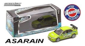Brians Mitsubishi Lancer Velozes Furiosos Fast Furious 1/43