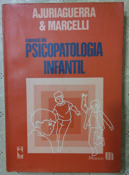 Manual De Psicopatologia Infantil Em Excelente Estado