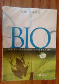 Bio - Testes De Vestibulares E Enem - Sônia Lopes