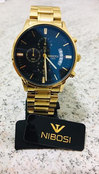 Kit 3 Relógios Nibosi 2309 Originais Pronta Entrega