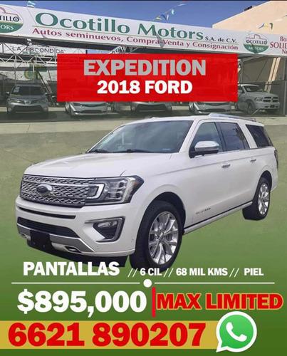 Imagen 1 de 11 de Ford Expedition 2018 3.5 Platinum Max 4x4 At