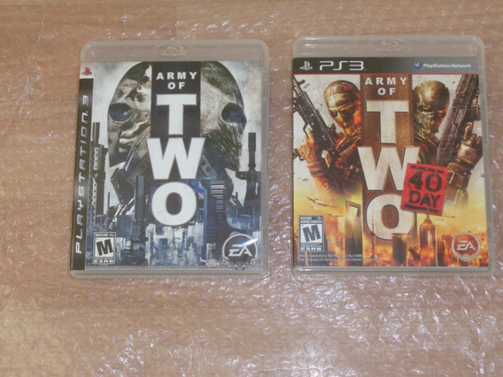 Army Of Two E Army Of Two The 40 Day - Ps3 - Frete R$ 23