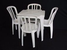 Aluguel Mesas E Cadeiras Que Suporta Até 182 Kilos ( Novos )