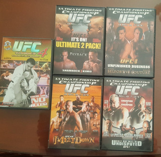 Ufc ( Ultimate Fighting Championship) Dvds