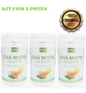 Chá Misto Desintoxicante - 3 Potes