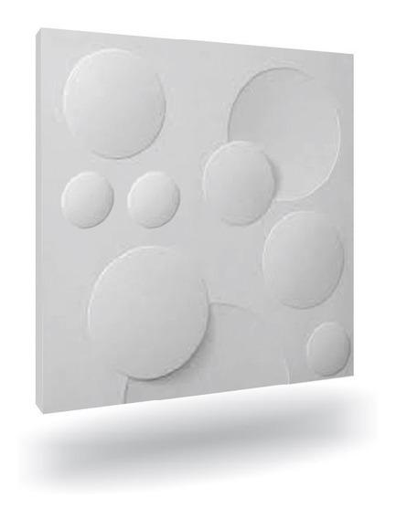 Forma De Silicone Para Gesso 3d 40x40 E0052 Original