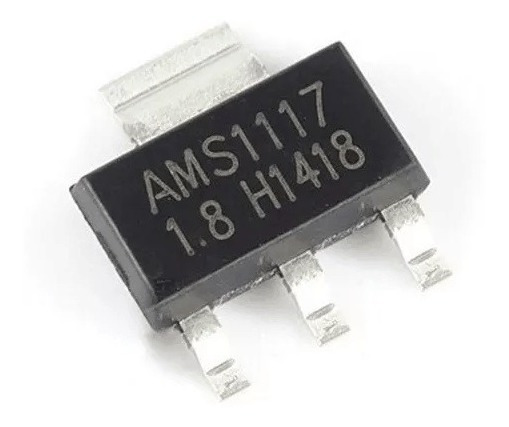 30x Regulador Tensão Ams1117 1.8v 1a Ams 1,8 Lm1117 Arduino