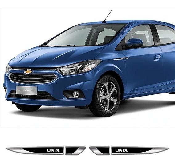 Acessórios Emblema Lateral Chevrolet Onix Resinado