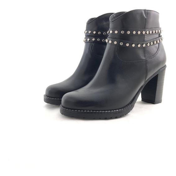 Gravagna 5858 Botineta Cuero Elegante El Mercado De Zapatos!