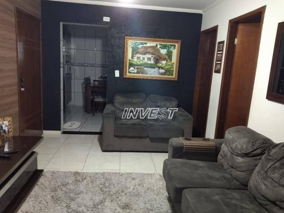 Sobrado Com 2 Dormitórios À Venda, 70 M² Por R$ 130.000 - Conjunto Residencial Tancredo Neves - São Vicente/sp - So0067