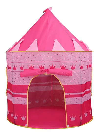 Carpa Plegable 130*105*80 Casita Tienda Princesa Para Niños