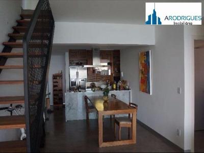 Lindo Apartamento Cobertura No Terrazzo Ondina, Decorado Ondina, Salvador - Ap00277