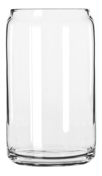 Vaso Lata Cerveza - Libbey 473 Ml Glasscan - X Unidad