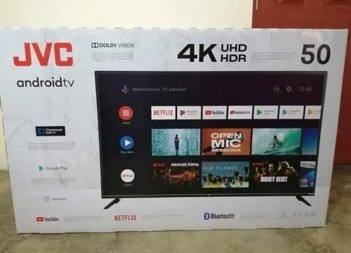 Smart Tv Jvc 50  Pantalla Rota - Dos Semanas De Uso