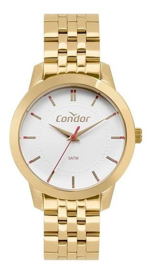 Relógio Condor Feminino Dourado Médio Co2036kvz/4b