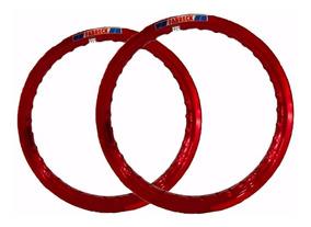Aros Vermelho Vitral Nr Bros 125 150 19x185e17x215 Frete Bah