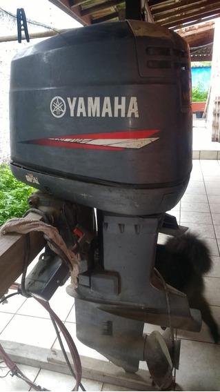 Motor De Popa Yamaha V6 200 Hp 2t Ano 2003