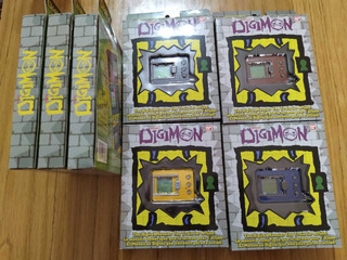 Tamagotchi Digimon 20th Aniversario Reg Americana Descuento