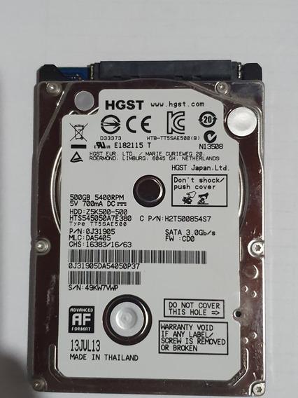 Hd Para Notebook Hgst Z5k500-500 Usado