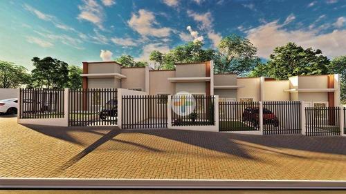 Imagem 1 de 15 de Casa Com 2 Dormitórios À Venda, 65 M² Por R$ 240.000,00 - Loteamento Jardim Nova Andradina - Foz Do Iguaçu/pr - Ca0481