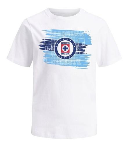 Imagen 1 de 5 de Playera Oficial Cruz Azul Logo Prod. Original