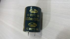 Capacitor Eletrolítico 180uf 400v Com 10 Unid