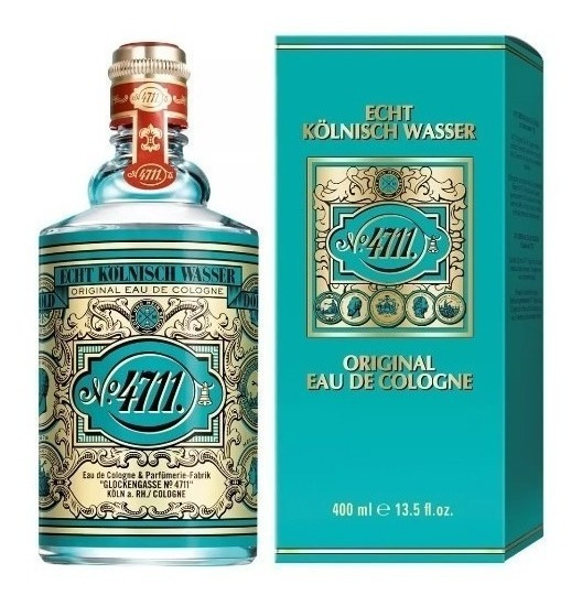 Água De Colonia 4711 Original Eau De Cologne Alema 400ml