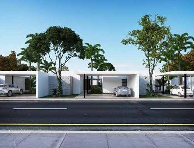 Magnífica Residencia De Una Planta En La Privada Alura M210