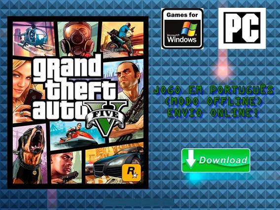 Grand Theft Auto V - Pc - Mídia Digital!!!