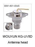 Conector Interno Antena Kg-uv8d