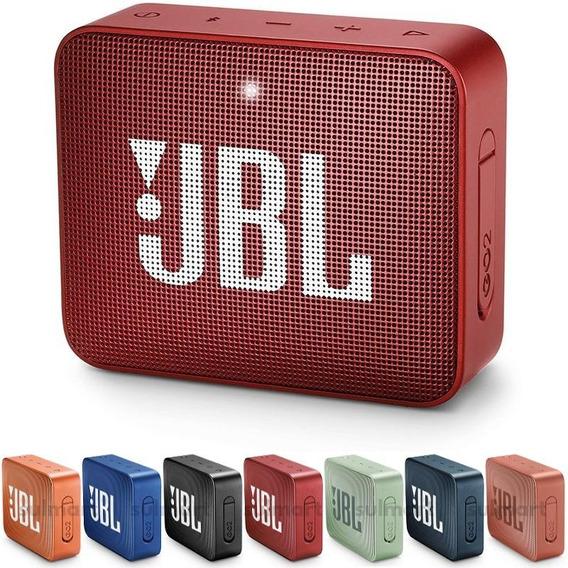 Jbl Go 2 Original Lacrada Caixa De Som Bluetooth Nota Fiscal