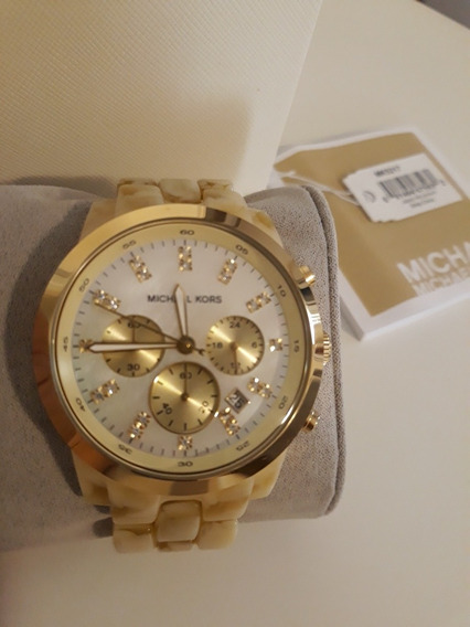 Relógio Michael Kors Madrepérola Original