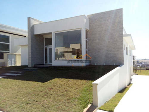 Casa Residencial À Venda, Condominio Fazenda Palmeiras Imperiais, Salto. - Ca1180