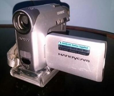 Filmadora Sony Dcr-hc32e Sem Bateria