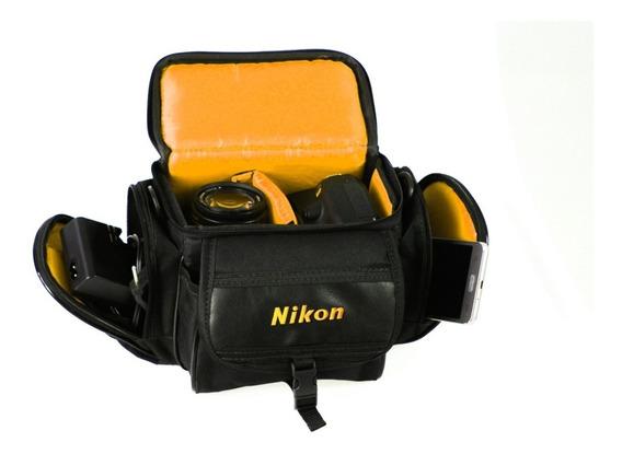 Case Nikon Fotografos Semi E Profissionais Camera+acessorios