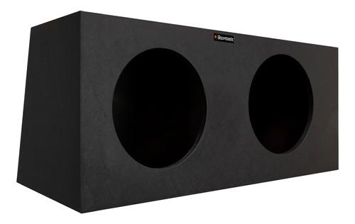 Caixa De Som Box P/ Graves Super Bass 2x12 P/ Falante De 12