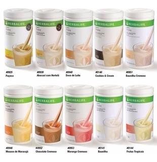 Kit 03 Shakes Herbalife 550 G + Nutrev + Proteina 460gr