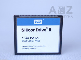 Compact Flash Wd Silicondrive 1gb Pata Ssd-c01gl-4626 1g
