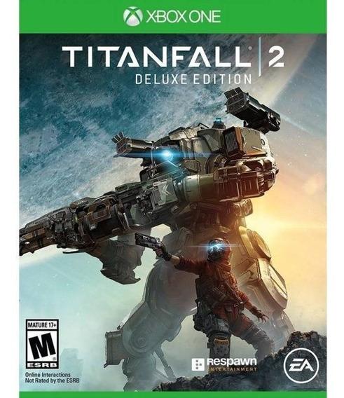 Jogo Titanfall 2 Xbox One Midia Fisica Novo Aberto Importado