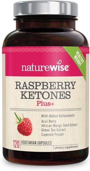 Naturewise Raspberry Ketones Plus | Advanced Weight Loss & A