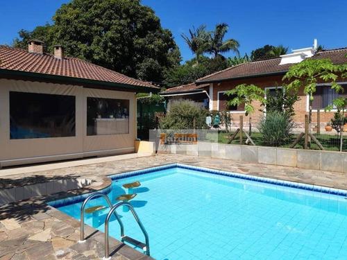 Imagem 1 de 30 de Chácara Com 3 Dormitórios À Venda, 1150 M² Por R$ 860.000,00 - Jardim Leonor - Itatiba/sp - Ch0111