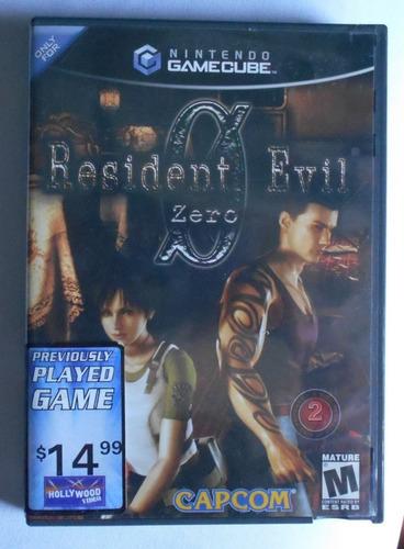 Resident Evil Zero - Gamecube - Original - Ntsc U