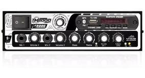 Amplificador Boog Receiver Usb Bluetooth Som Ambiente 300 W