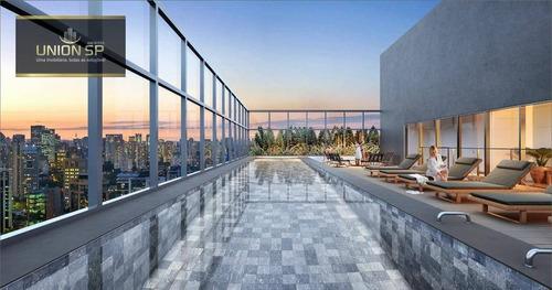 Imagem 1 de 7 de Studio Com 1 Dormitório À Venda, 36 M² Por R$ 828.092,00 - Vila Olímpia - São Paulo/sp - St1218