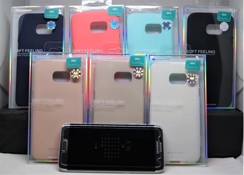 Funda Galaxy S7 Edge Mercury Goospery Soft Feeling