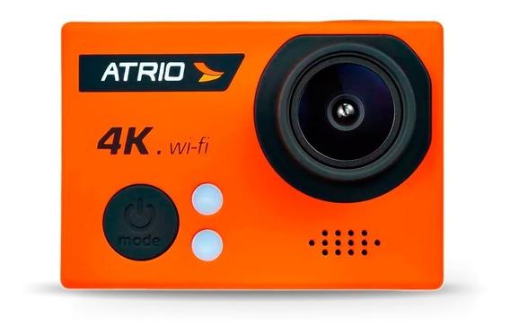 Câmera Ação Go Pro Atrio 04k Tela Lcd Usb Sd Wifi Dc185.