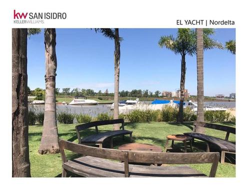 Lote | En Venta | Al Río | Barrio El Yacht | Nordelta | Tigre | Barrio Náutico