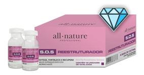 Cistina All Nature Sos Reestruturador P/ Relaxamento 12ampol