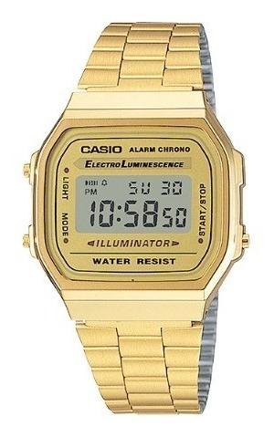 Relógio Casio A168wg + Garantia De 1 Ano + Nf