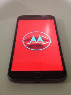 Moto G4 Plus Com Defeito (preto) Sem Garantia